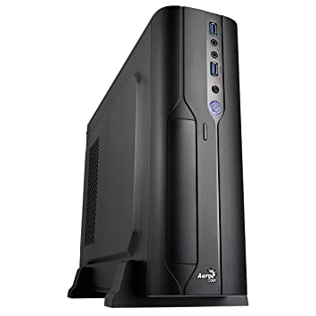Aerocool CS-101 - Caja de Ordenador (PC, Superior, 1x 80 mm, Micro-ATX, Mini-ITX, Negro): Amazon.es: Informática