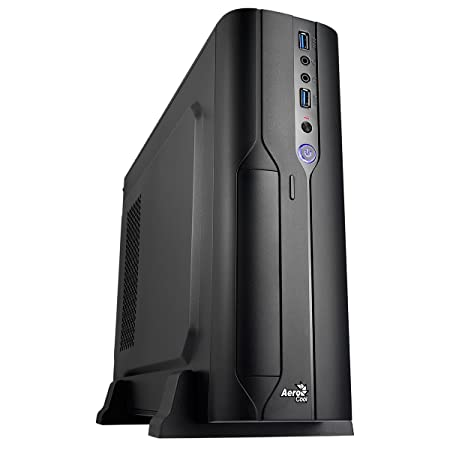 Amazon.com: Carcasa de PC Aerocool PGS CS-101, microATX ...