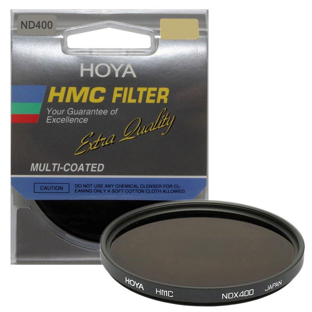 Hoya 58mm Neutral Density ND-400 X, 9 Stop Multi-Coated Glass Filter