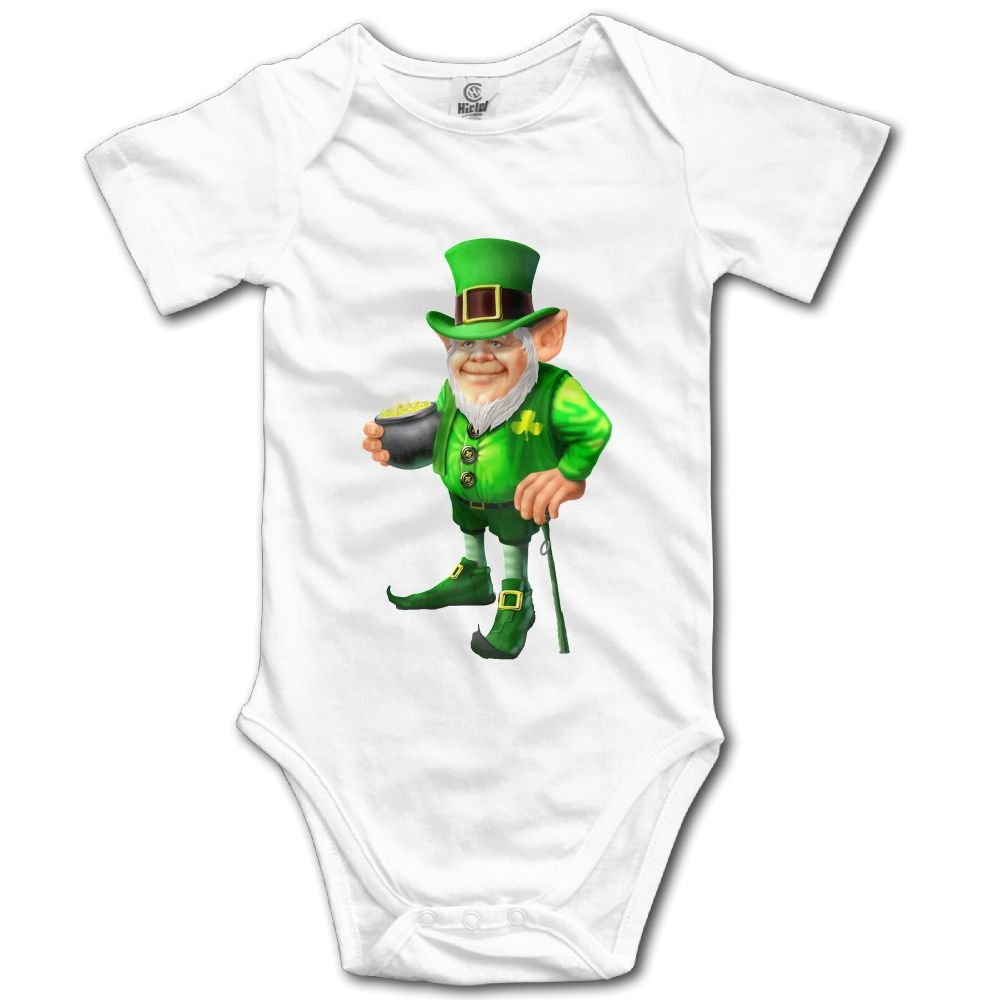 Rainbowhug Leprechauns Unisex Baby Onesie Cartoon Newborn Clothes Concise Baby Outfits Comfortable Baby Clothes