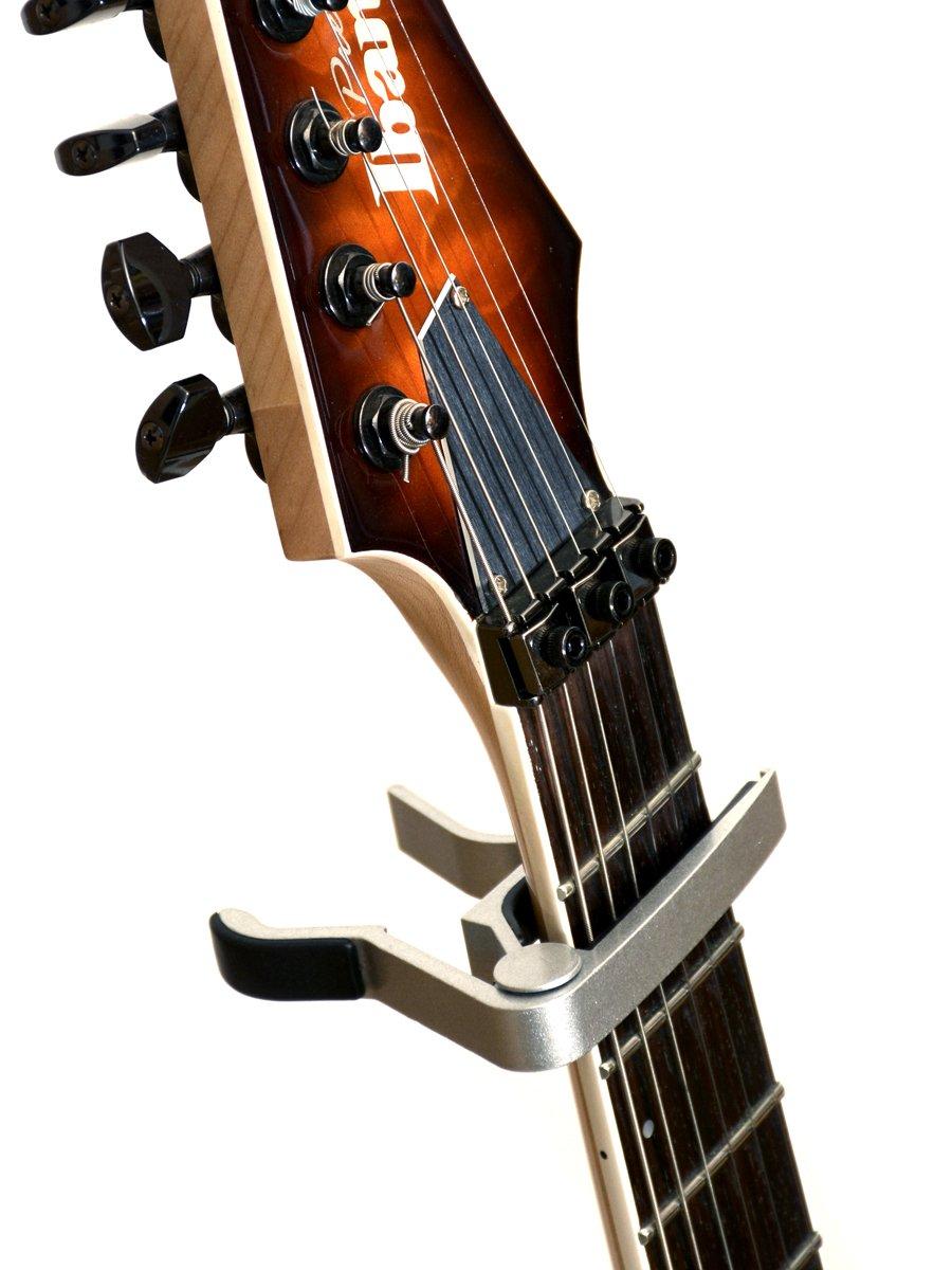 Elagon capo ST para guitarra (negro) capo con disparador de rápida liberación para guitarra eléctrica y guitarra acústica, etc. ¡La cejilla estándar y de ...