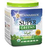 Sunwarrior - Ormus Super Greens, Mint, 45 Servings (8 oz.)