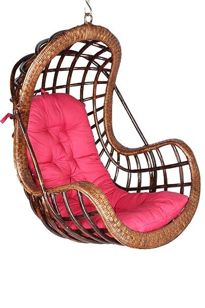 Novelty Cane Art Rattan Modest Swing Chair.