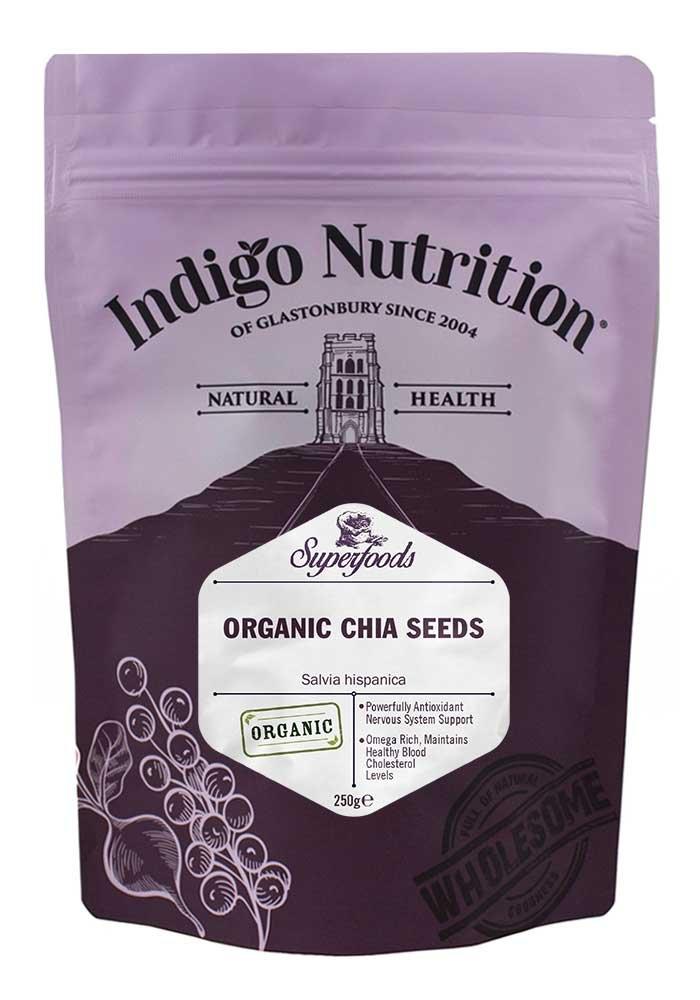 Indigo Herbs Semillas de Chia ecológica 1kg: Amazon.es ...