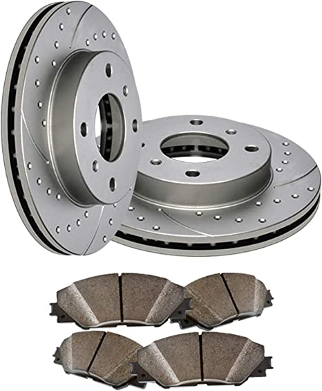 Pads for 1997-2001 Acura INTEGRA TYPE R Front Brake Rotors