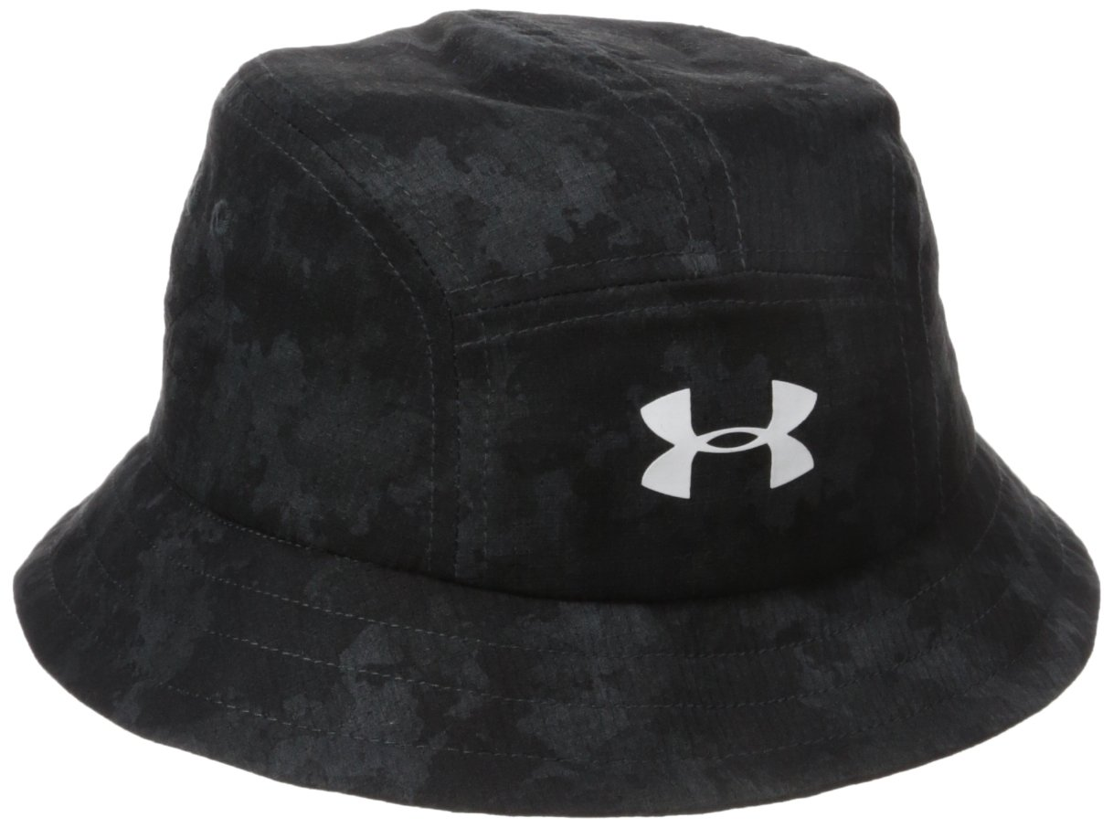Under Armour Little Boys' Printed Warrior Bucket Hat, Inky Camo, 1-3