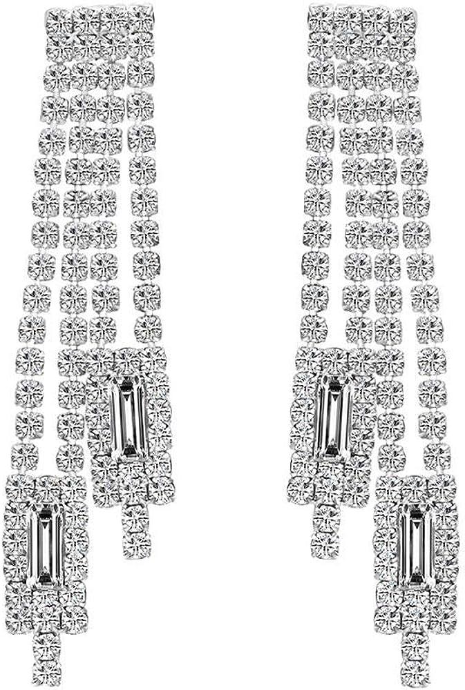 Pendientes Pendientes Pendientes Pendientes largos Pendientes de borla Pendientes de diamantes de imitación Pendientes de borla Pendientes de novia