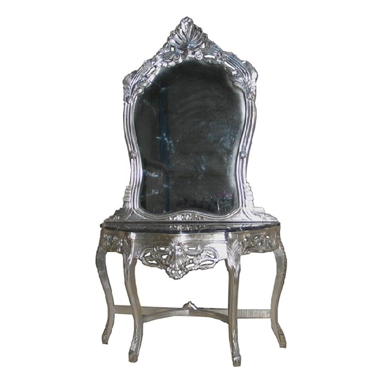Spiegel Wand Konsole Barock Antik Spiegelkonsole Prunk