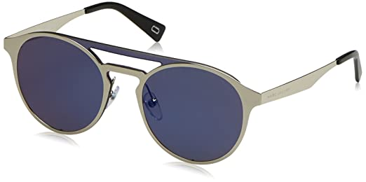Mens Marc 199/S XT 010 Sunglasses, Palladium/Blue Sky SP, 99 Marc Jacobs