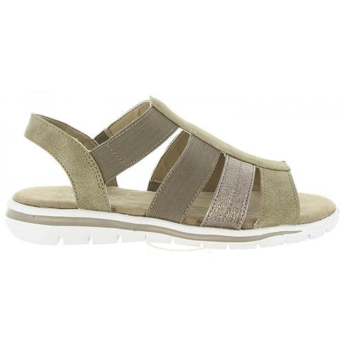 7d935486f1eeeb Sandalen für Damen URBAN 391796-B7630 Taupe  Amazon.de  Schuhe ...