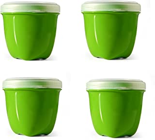 product image for Preserve Food Storage Container Kitchen Supplies, Set of 4, Apple Green
