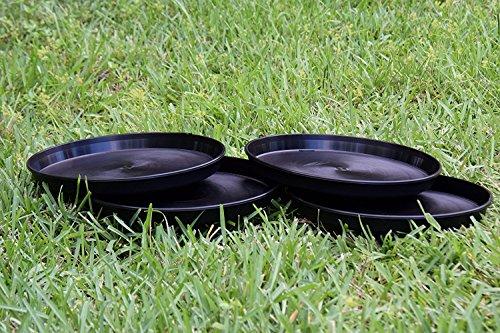 TopoLite 12″/48PCS Round Black Plastic Plant Saucer Hydroponic Growing System Accessories Review