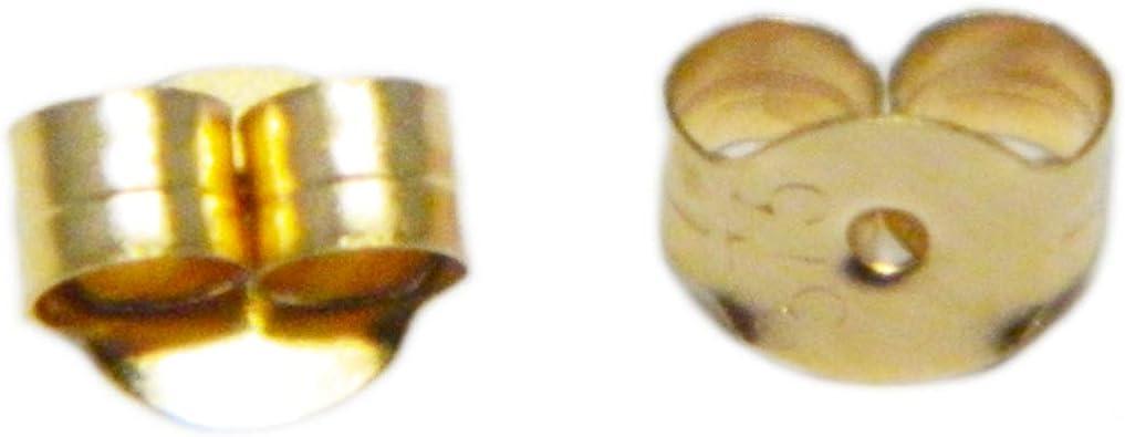 80 FERMOIRS EMBOUTS PAPILLON METAL COULEUR BRONZE BOUCLE D/'OREILLE CLOU