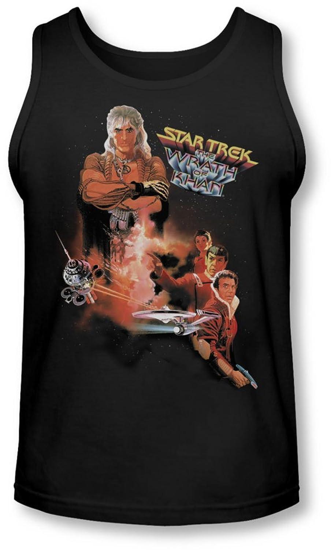 Star Trek - Mens Wrath Of Khan(Movie) Tank-Top