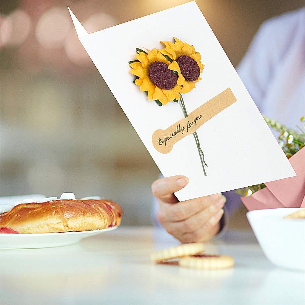 Tarjetas Pop-Up 3D ZWOOS Tarjeta de Felicitaci/ón Boda Invitaci/ón de Boda con Envoltura Tarjeta de Regalo Manuscrita para San Valent/ín Cumplea/ños Aniversario A/ño Nuevo Fiesta Rueda de la Fortuna