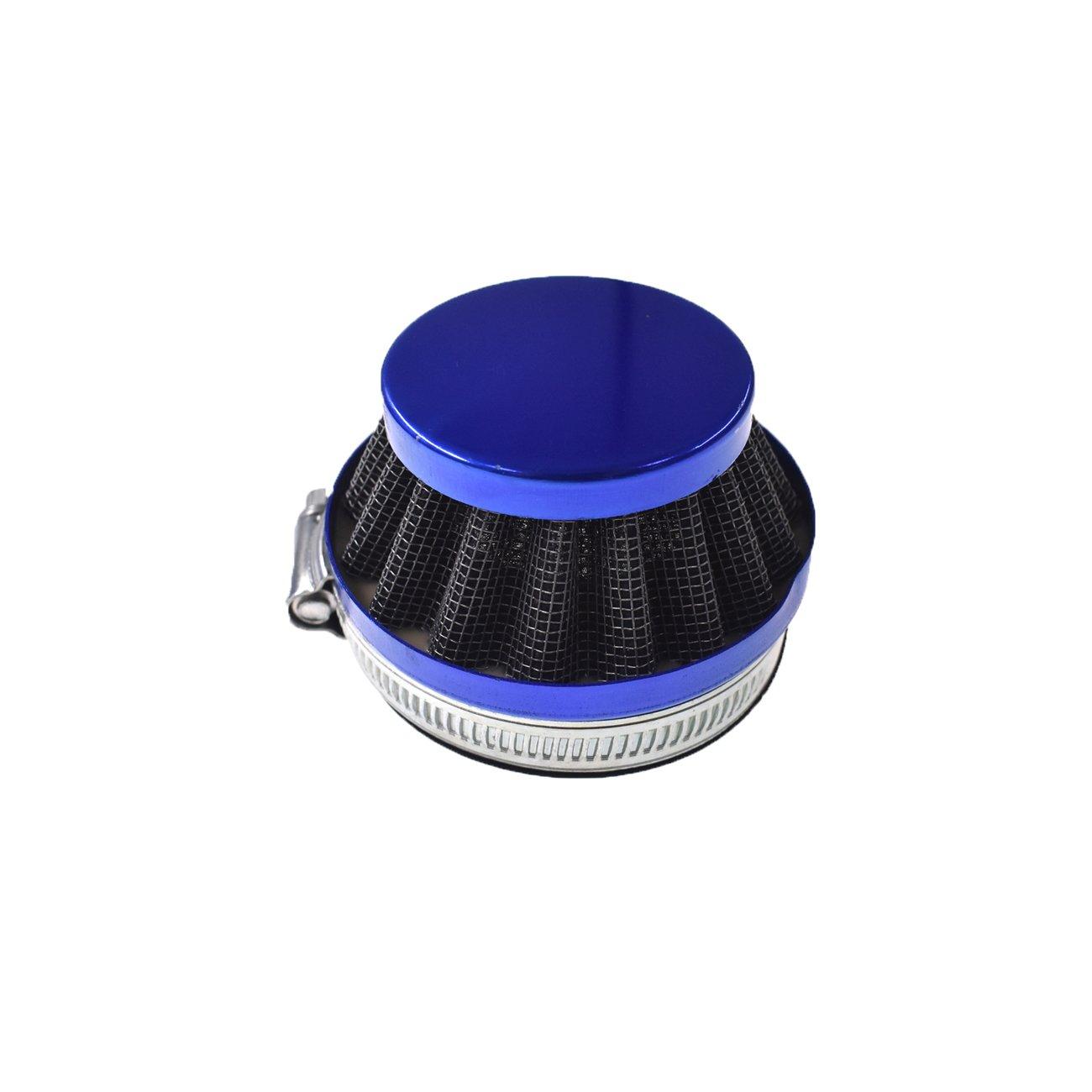 bleu G/én/érique Kit moteur Carburateur Filtre /à Air Collecteur dadmission Joints Pour 49cc 70cc 80cc v/élo motoris/é mini moto /à 2 temps