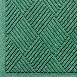 Andersen 221 Waterhog Fashion Diamond Polypropylene Fiber Entrance Indoor Floor Mat, SBR Rubber Backing, 6\' Length x 4\' Width, 3/8\