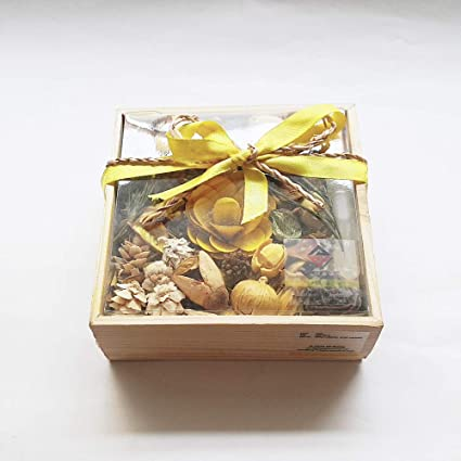 Pics And You Lemon Scented Potpourri Home Fragrance With Decorative