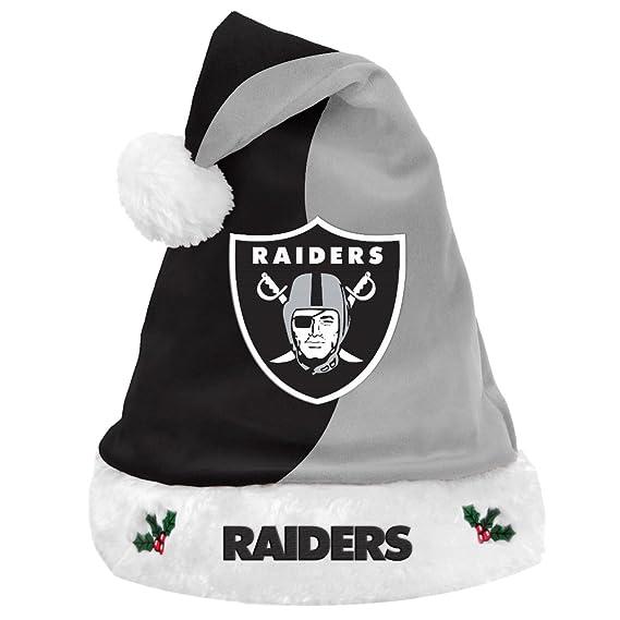 Amazon.com   NFL Football Team Logo Basic Holiday Plush Santa Hat   Sports    Outdoors d323c5dba