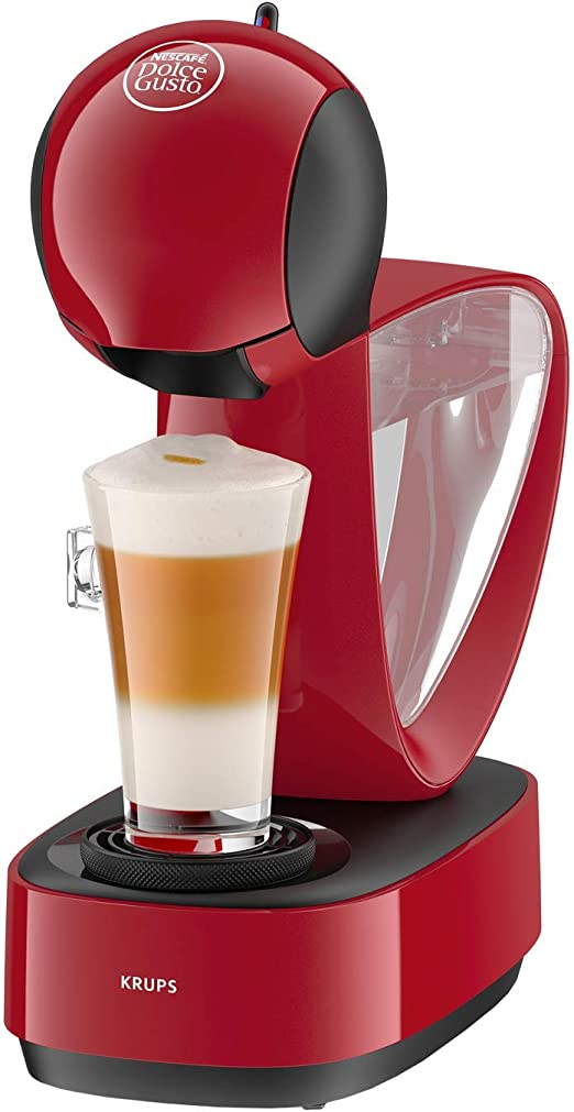 Krups Dolce Gusto Infinissima KP1705SC Cafetera de cápsulas Dolce Gustocon 15 bares de presión, depósito extraible, bandeja regulable a 3 alturas,