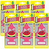 Little Trees Watermelon Scent Air Freshener (6 Pack)