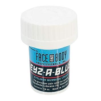 Amazon.com: Eyz-A-Blue Topical Pre-Procedure Eyeliner Numbing Cream ...