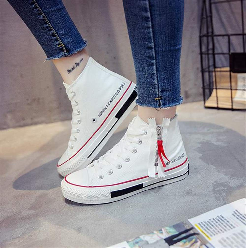 Mr/Ms Unparalleled beauty High Top Casual Classic Casual Top Canvas Fashion Shoes Sneakers Women & Men Modern technology Upper material Various latest designs RV9015 d770de