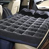 BK 10 IMPORT & EXPORT Inflatable Beds Car for Back Seat Mattress Air Back Seat Backseat Cushion Camping Travel Outdoor Rest (Multicolor)
