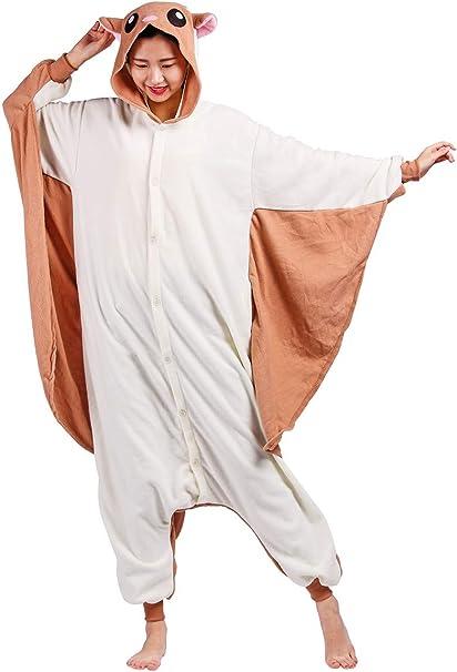 TALLA S(Apto para altura 141-160cm). Disfraz de Animal Unisex para Adulto Sirve como Pijama o Cosplay Sleepsuit de una Pieza