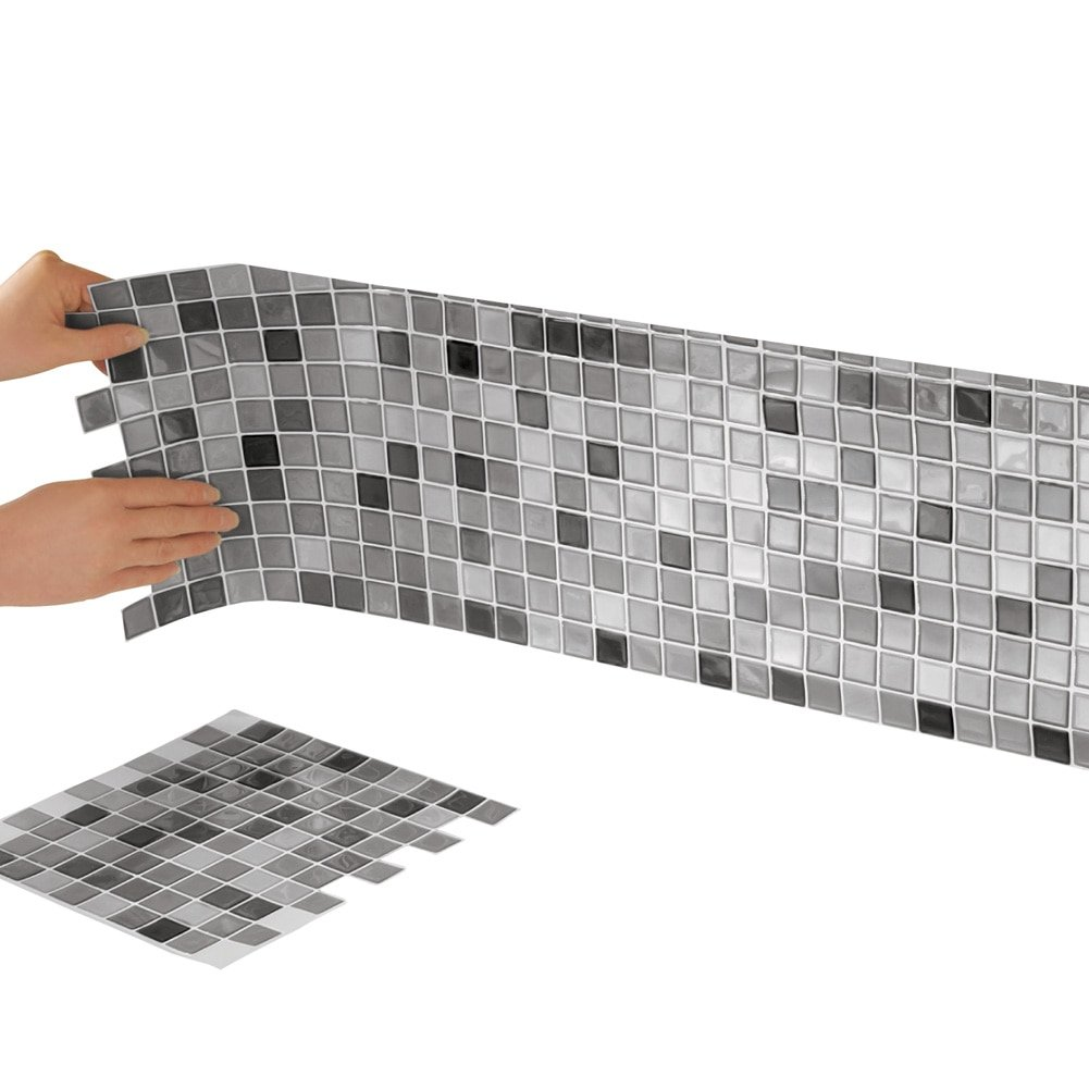 Best X10 Peel N And Stick Backsplash Tile For Kitchen: Plastic Tile: Amazon.com