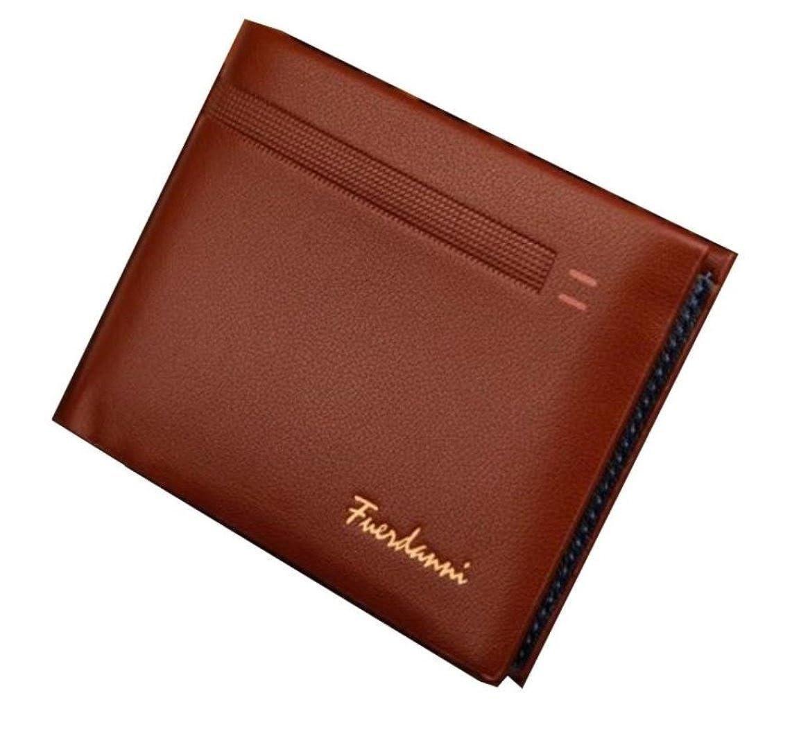 99a64dd51702 DSANTECH Men's Genuine Leather Wallet Fuerdanni One size Black at ...