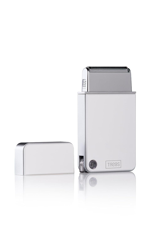 Trebs 99227 Máquina de afeitar de láminas Blanco - Afeitadora (Máquina de afeitar de láminas, Blanco, USB, 800 g, 130 mm, 75 mm)