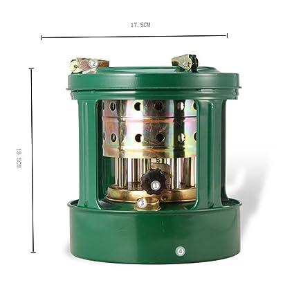8 mechas queroseno quemador camping estufas portátil práctico al aire libre estufa de queroseno: Amazon.es: Bricolaje y herramientas