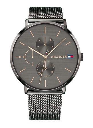 Tommy Hilfiger Reloj Multiesfera para Mujer de Cuarzo con Correa en Acero Inoxidable 1781945: Amazon.es: Relojes