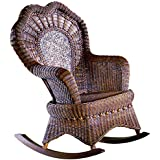 Spice Islands Serpentine Rocker, Brown Wash