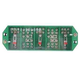 Caja de terminales, caja de conexiones de caja eléctrica, caja de conexiones de medición de energía eléctrica, para medidor doméstico trifásico de 4 hilos: Amazon.es: Industria, empresas y ciencia