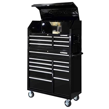 .com: 41 in. 16-drawer tool chest and rolling tool cabinet set ...