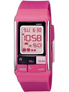 Casio LDF-52-4AEF - Reloj digital de cuarzo para mujer con correa de