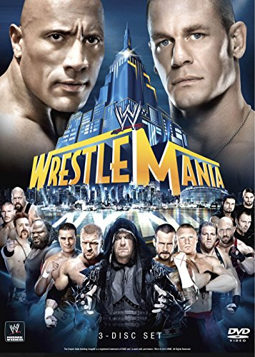 WWE: WrestleMania XXIX (The Rock Vs Brock Lesnar Vs John Cena)