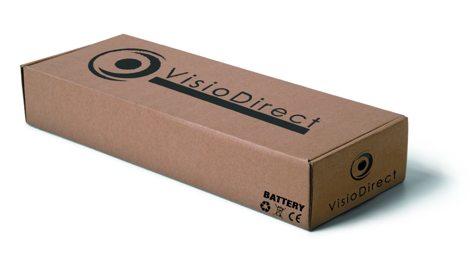 Visiodirect Batterie pour Packard Bell EasyNote Le LM LS NM NS TK TM TS TSX Series Compatible AS10D51 6600mAh 11.1V