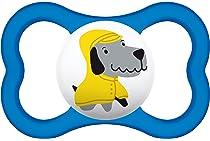 MAM - Chupete Air - 18 meses - Silicona - Pack de 2 chupetes y caja de esterilización - Color aleatorio: Amazon.es: Bebé