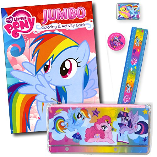 My Little Pony Coloring and Activity Book - Featuring Rainbow Dash! by My Little Pony