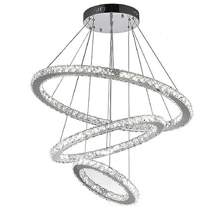 Flashing God K9 Really Crystal Dimmable Led Lighting Rings