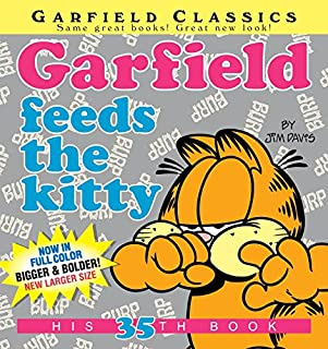 Book Cover: Garfield Feeds the Kitty: His 35th Book