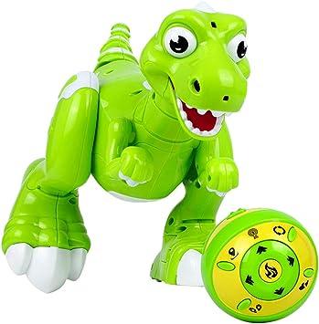amazone jouet dinosaure rc vert autour de 35 euros