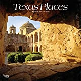 Texas Places 2019 12 x 12 Inch Monthly Square Wall Calendar, USA United States of America Southwest State Nature (Multilingual Edition)