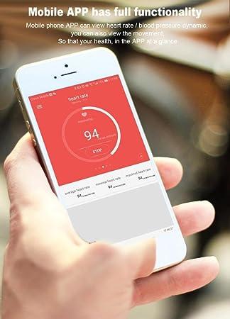 Rastreador SmartWatch, Magiyard Actividad del monitor de ritmo cardíaco de la presión arterial del rastreador de ejercicio (TF1, Verde)