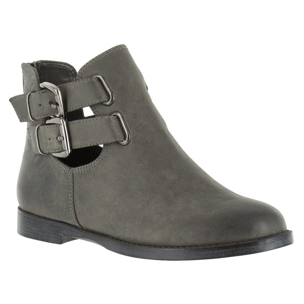 Bella Vita Women's Ramona Ankle Bootie B01JH8E36W 6 2A(N) US|Grey Burnished Leather