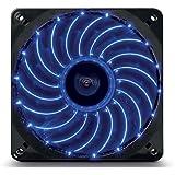 Enermax UCTVS12P-BL - Ventilador para caja de ordenador (Intensidad nominal: 0,50A, diámetro del ventilador: 12 cm), negro