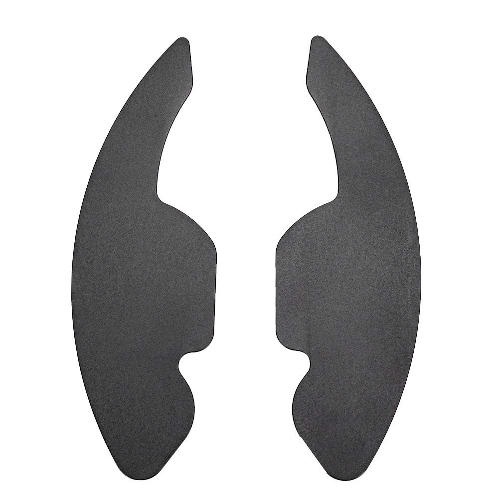 Steering Wheel Shift Paddle 2pcs Car Steering Wheel Shift Paddle Blade Shifter Black Fit For a3 a4l a5 a6 a7 a8 s5